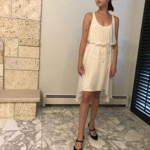 Eli Tahari white dress fully lined. XS/TP